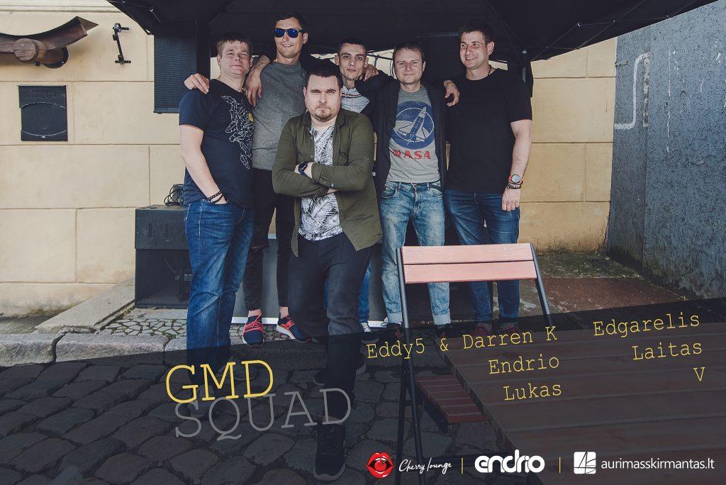GMD SQUAD Gatvės muzikos dienoje