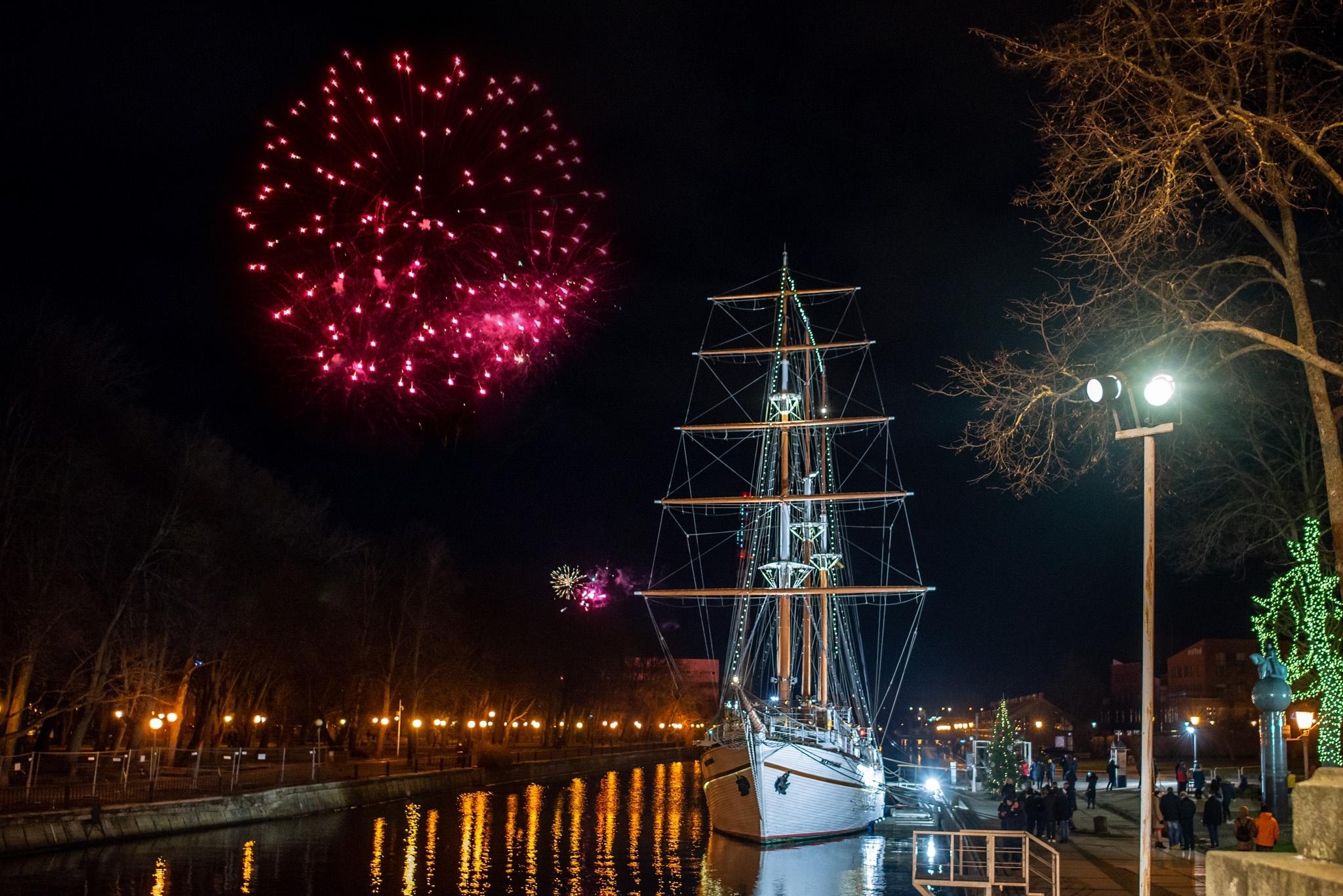 Naujūjų sutiktuvės Klaipėdoje 2020