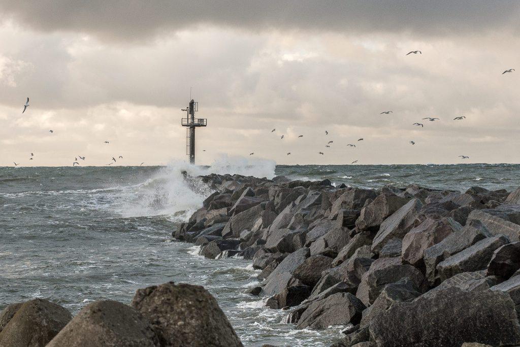 Stichinis vėjas Pajūryje