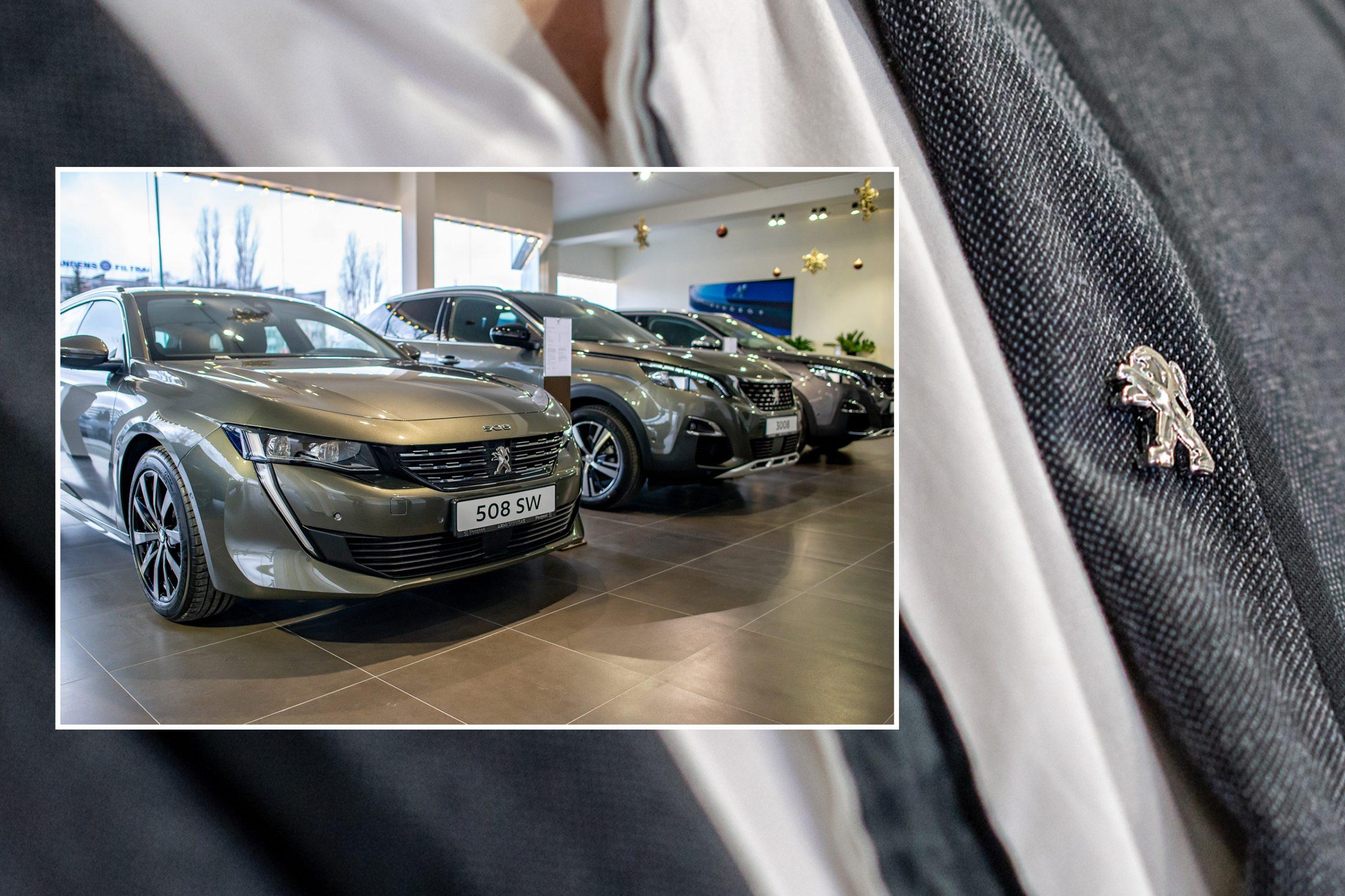 Peugeot salono atidarymas